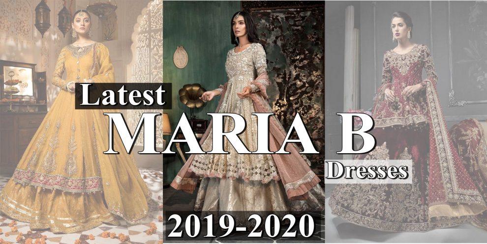 Latest Maria B dresses