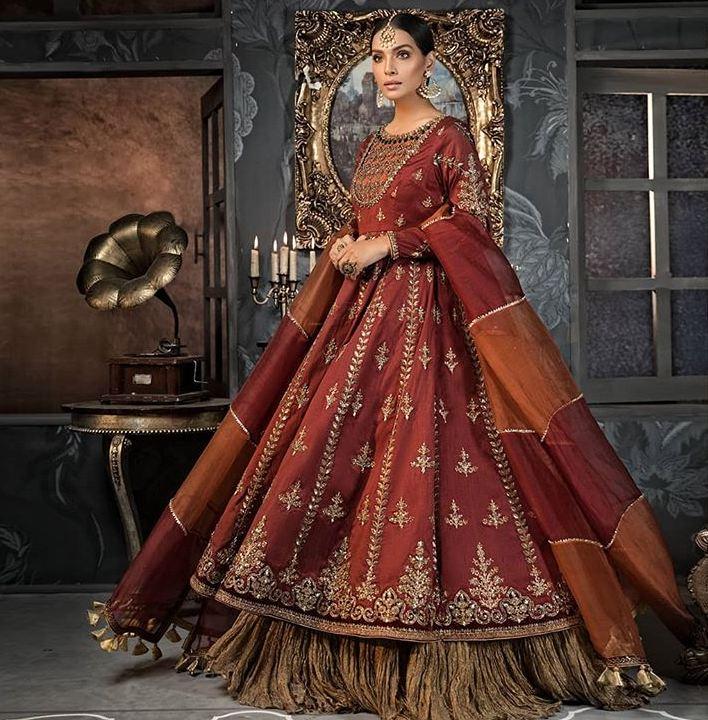 maria b red dress
