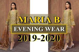 MARIA B EVENING WEAR