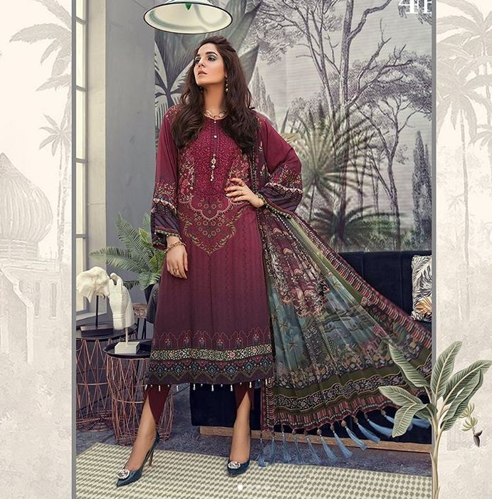 maria b stitched suits