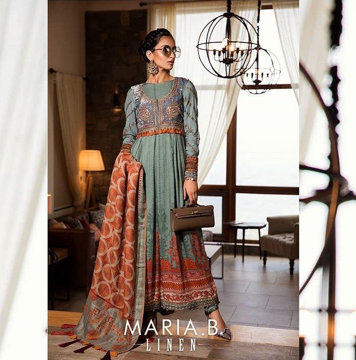 Maria B Linen collection 2019