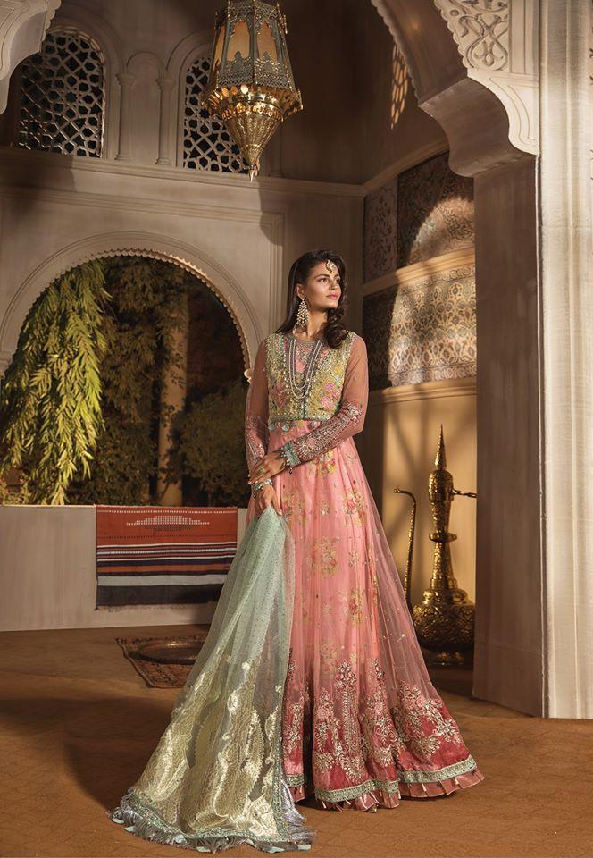 maria b pastel dress