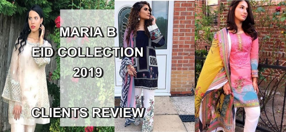 MARIA B EID COLLECTION 2019 REVIEW