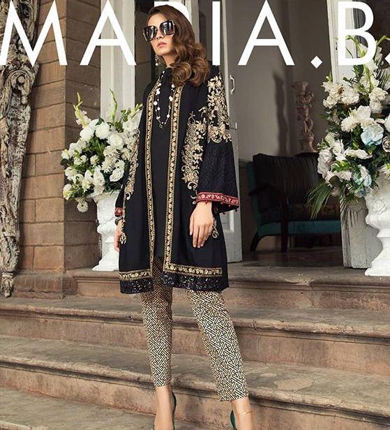 maria b black suit