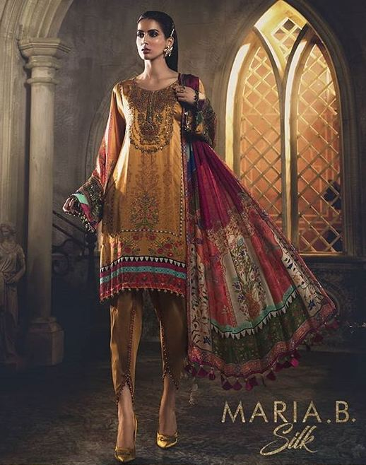 Maria B silk collection 2019