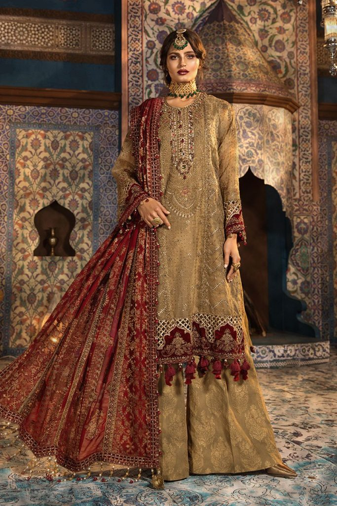 Maria B embroidered suit