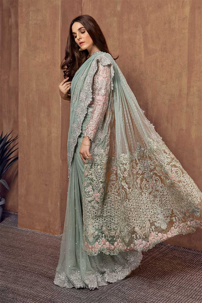 maria b saree collection 2019