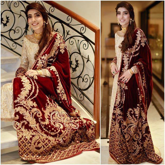 maroon velvet shawls