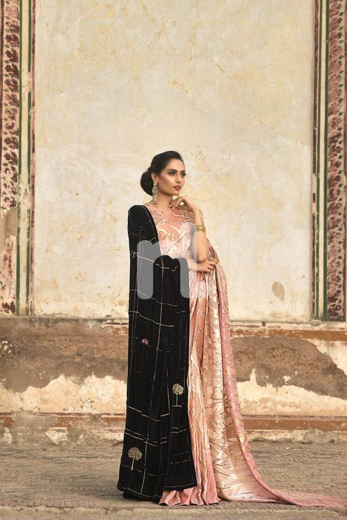 Nishat Linen Velvet Shawls