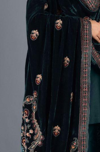teal bareeze shawl