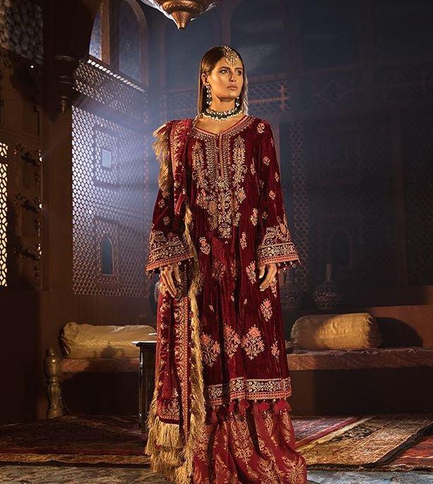 Maria B velvet Suits