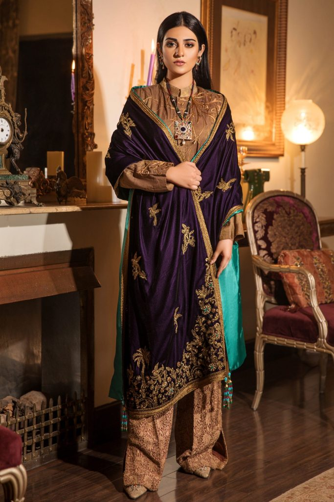 nilofer shahid winter collection