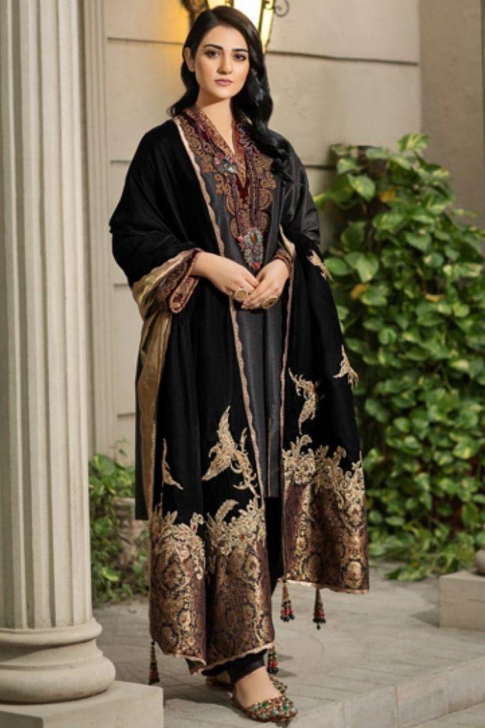 velvet shawls 2019