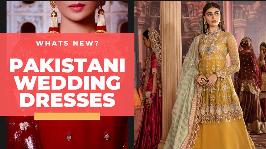 Stunning Pakistani Bridal Outfits For Women November 2020