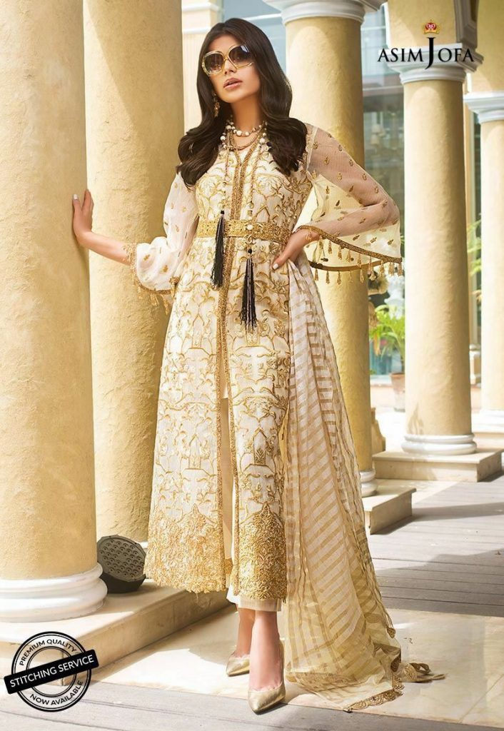asim jofa party wear