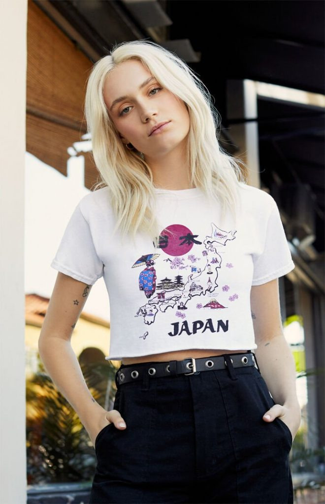 pacsun graphic tees
