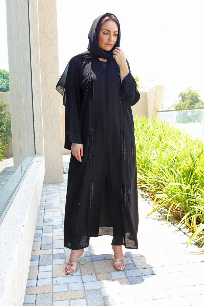 Pleated Abaya UK