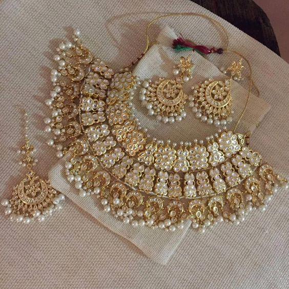 wedding gold necklace design