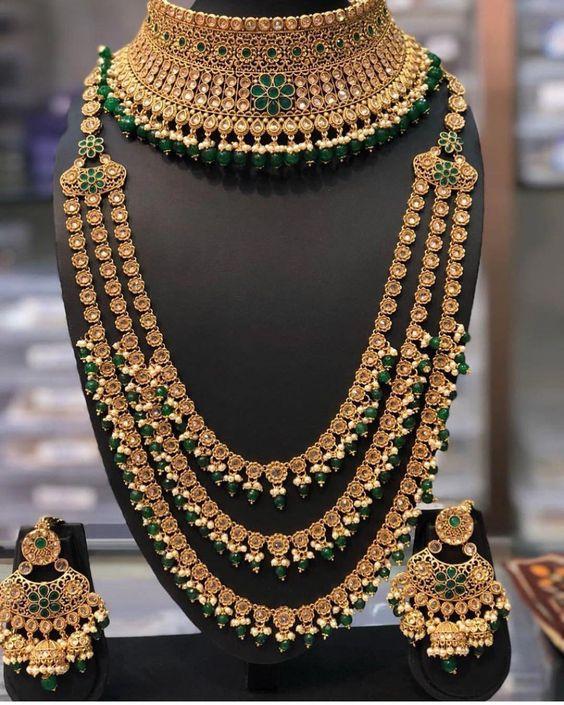 marriage jewellery set