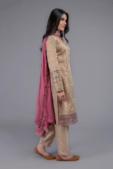 Maria B Pink Dupatta Collection