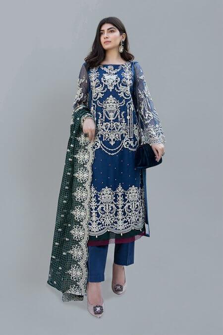 Maria B Chiffon Dresses