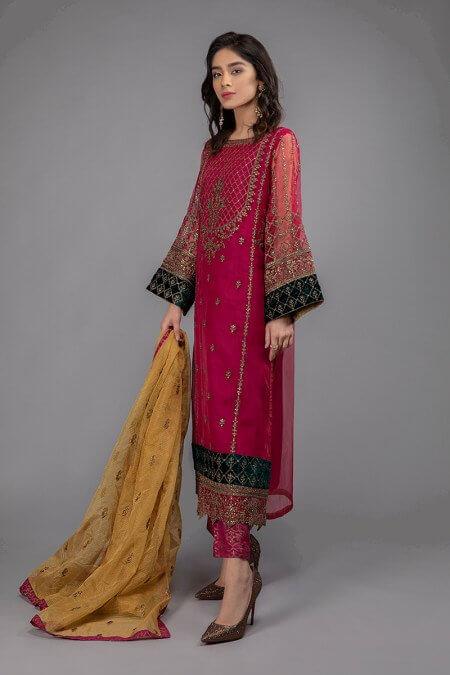 Maria B Pink Dress