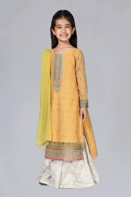 Little Girl Kurta Style