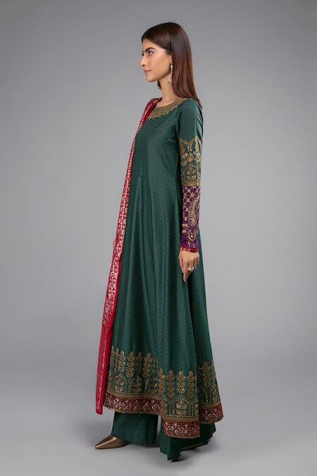 Maria B Green Dress