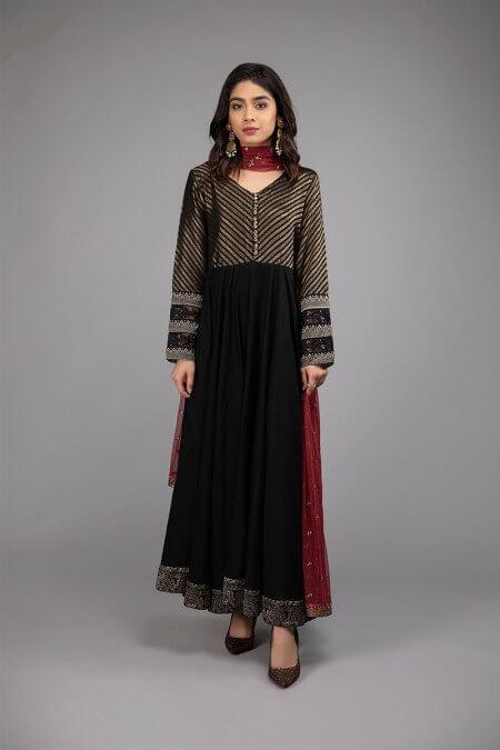 Black Frock Dress