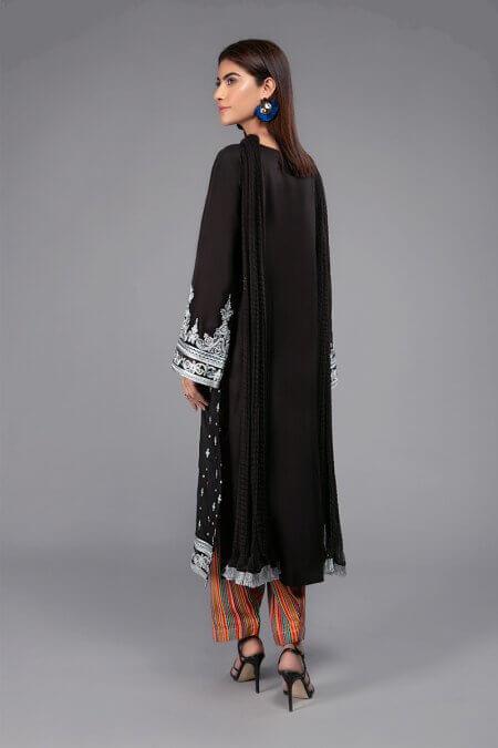 Maria B Black Dress