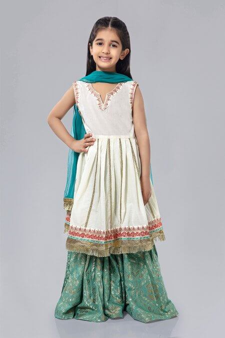 White Frock Pakistani