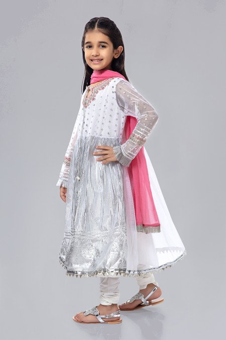 Pakistani Net Dresses for Kids