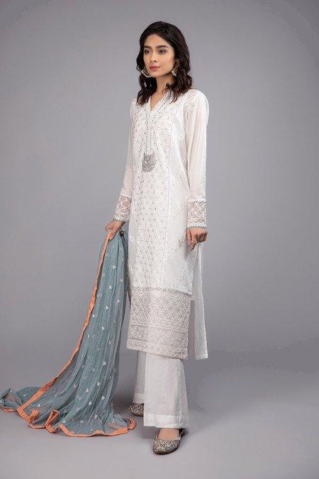 Maria B White Dress