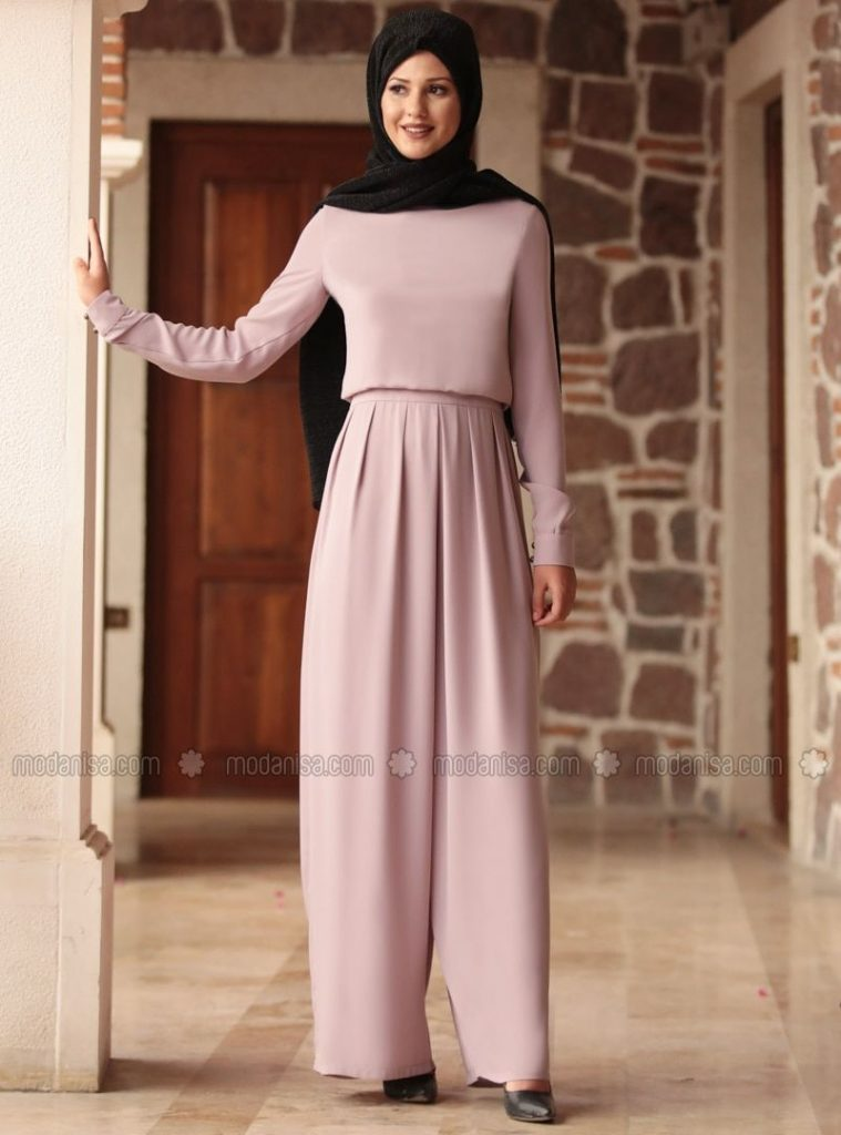 hijab jumpsuit ideas