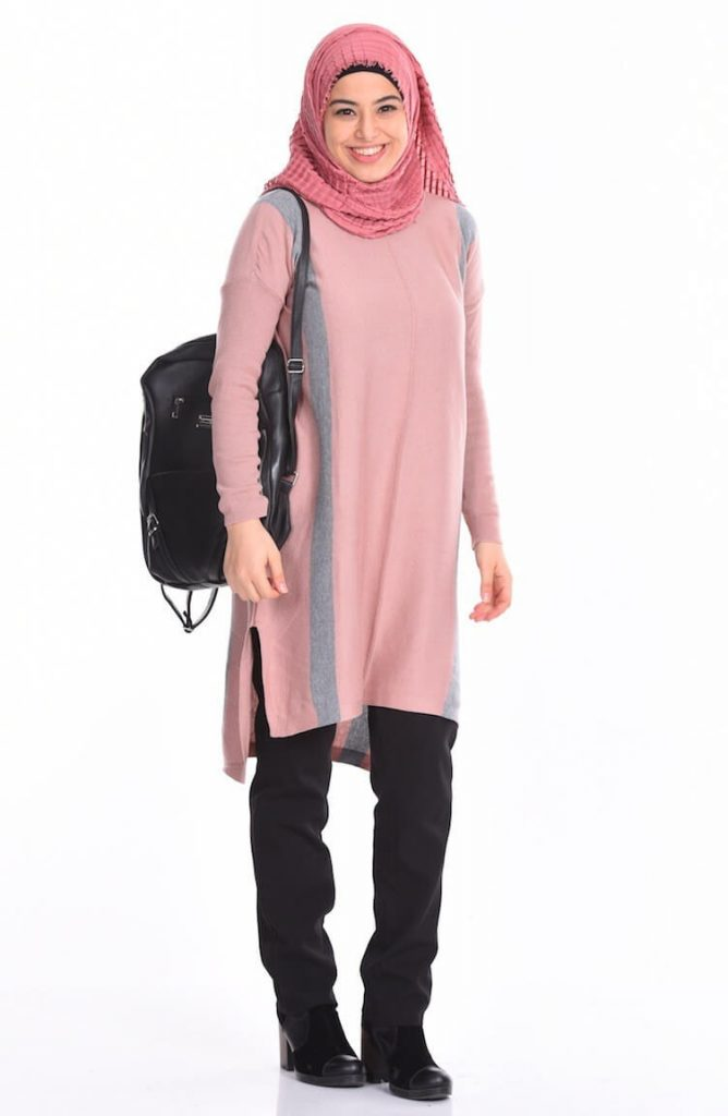 party wear long kurti with hijab