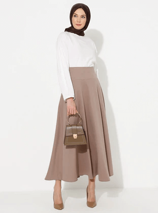 modern islamic skirts fashion