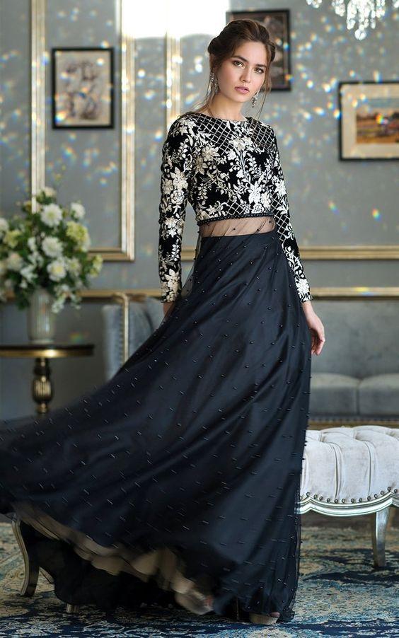 pakistani cocktail dress for petite ladies