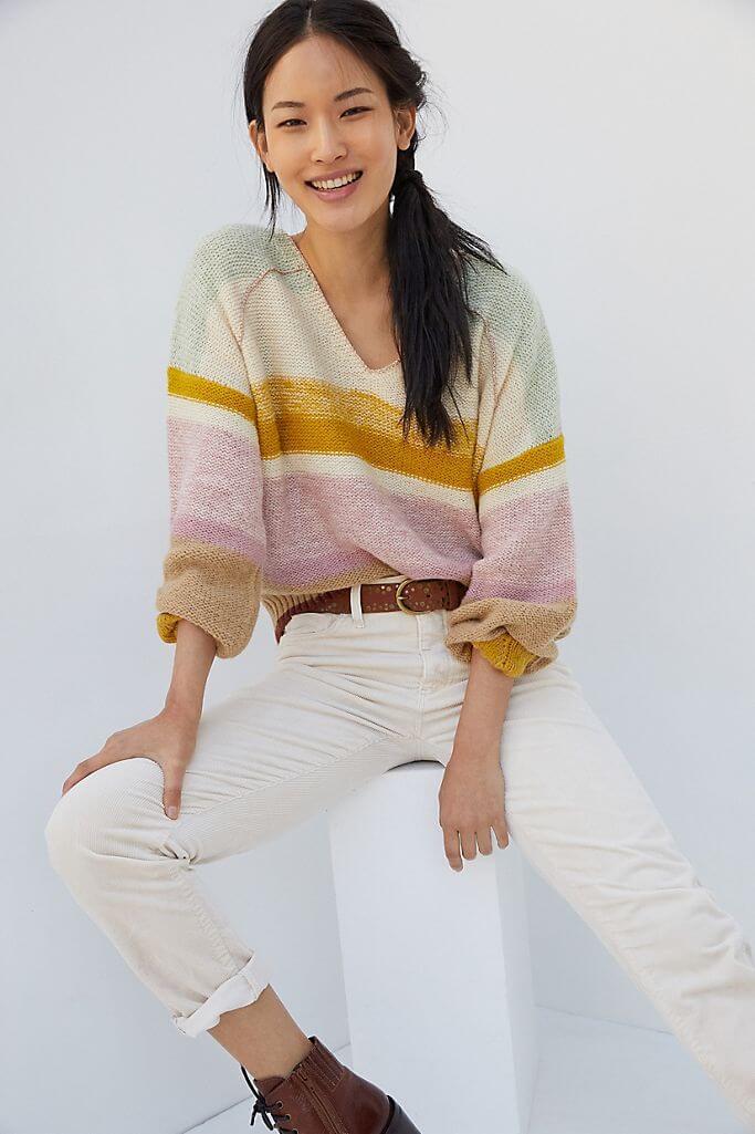 anthropologie petite sweaters