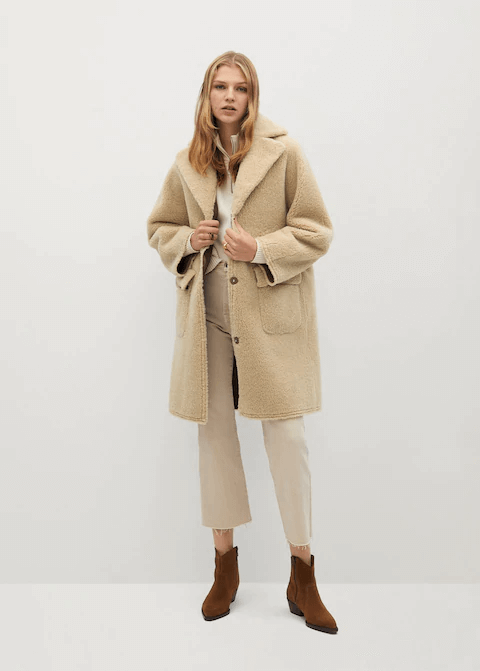 mango petite coats