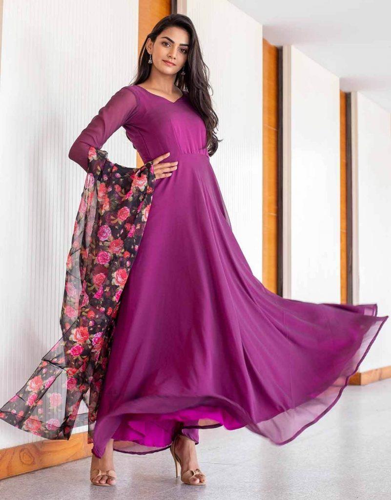 silk petite maxi dress