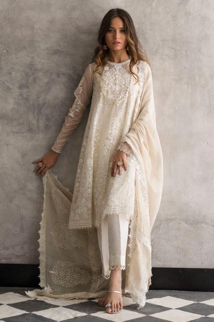 white salwar kameez for petite