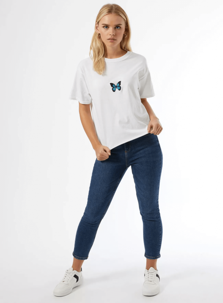 miss selfridge petite t shirts