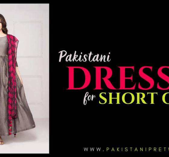 Pakistani Dresses for Short Girls