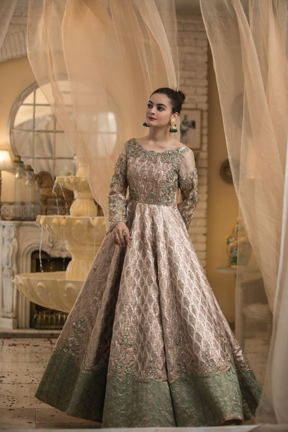 wedding dress for pakistani petite ladies