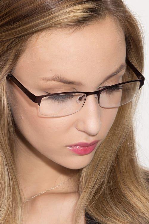 Semi rimless trending glasses