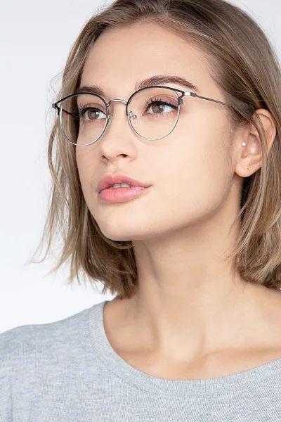 wire rimmed glasses frames