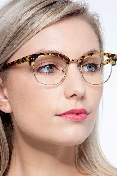 half frame glasses fashion