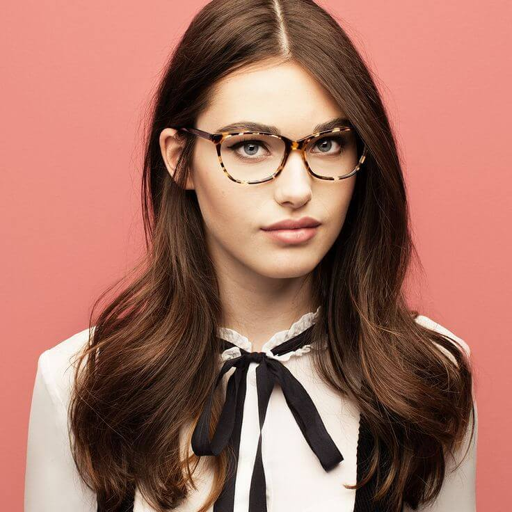 cat eye glasses for round face