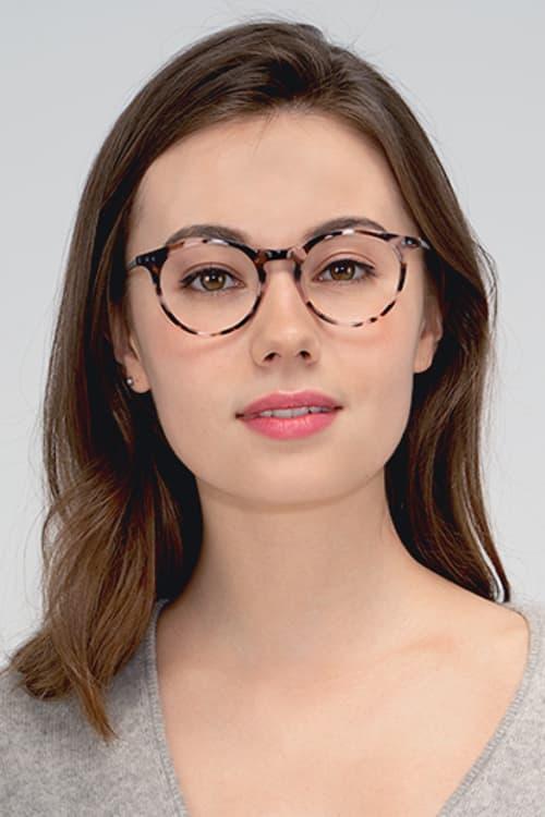 round eye glass frames