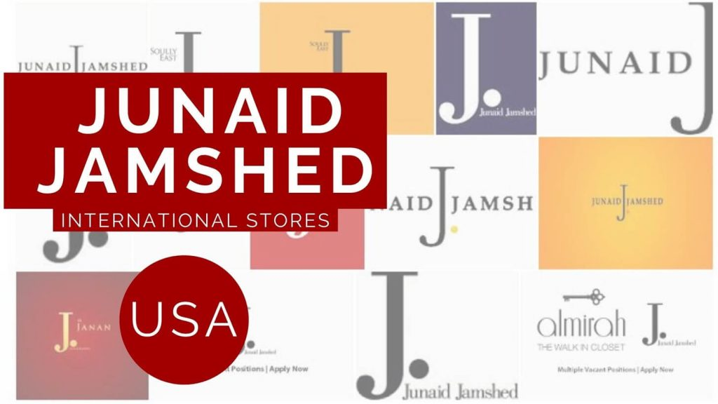 Junaid Jamshed USA contact store and location